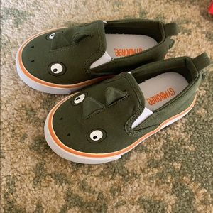 Gymboree size 6 dinosaur sneakers shoes toddler